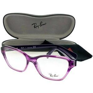 Ray Ban RX5341-5570 Womens Purple Frame Eyeglasses